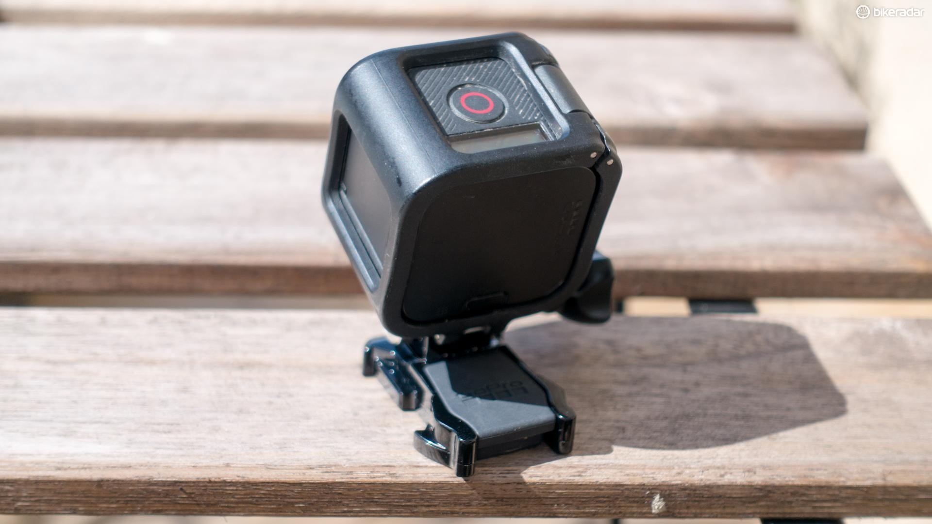 This camera is super-simple — there's a button on top for recording, plus another couple for navigating menus and that's about it