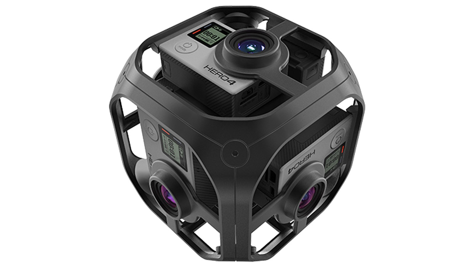 For now, the Omni only works with the Hero4 Black cameras