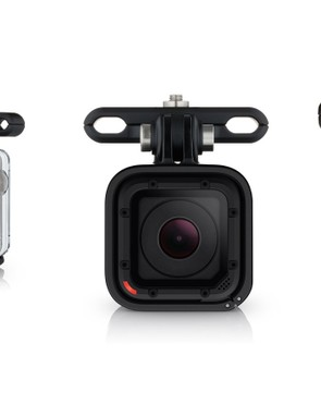 The new GoPro Pro Seat Rail mount is alloy and secured with a single 4mm bolt