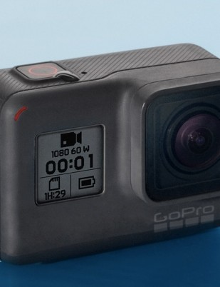GoPro's Hero is the company's new entry level action camera