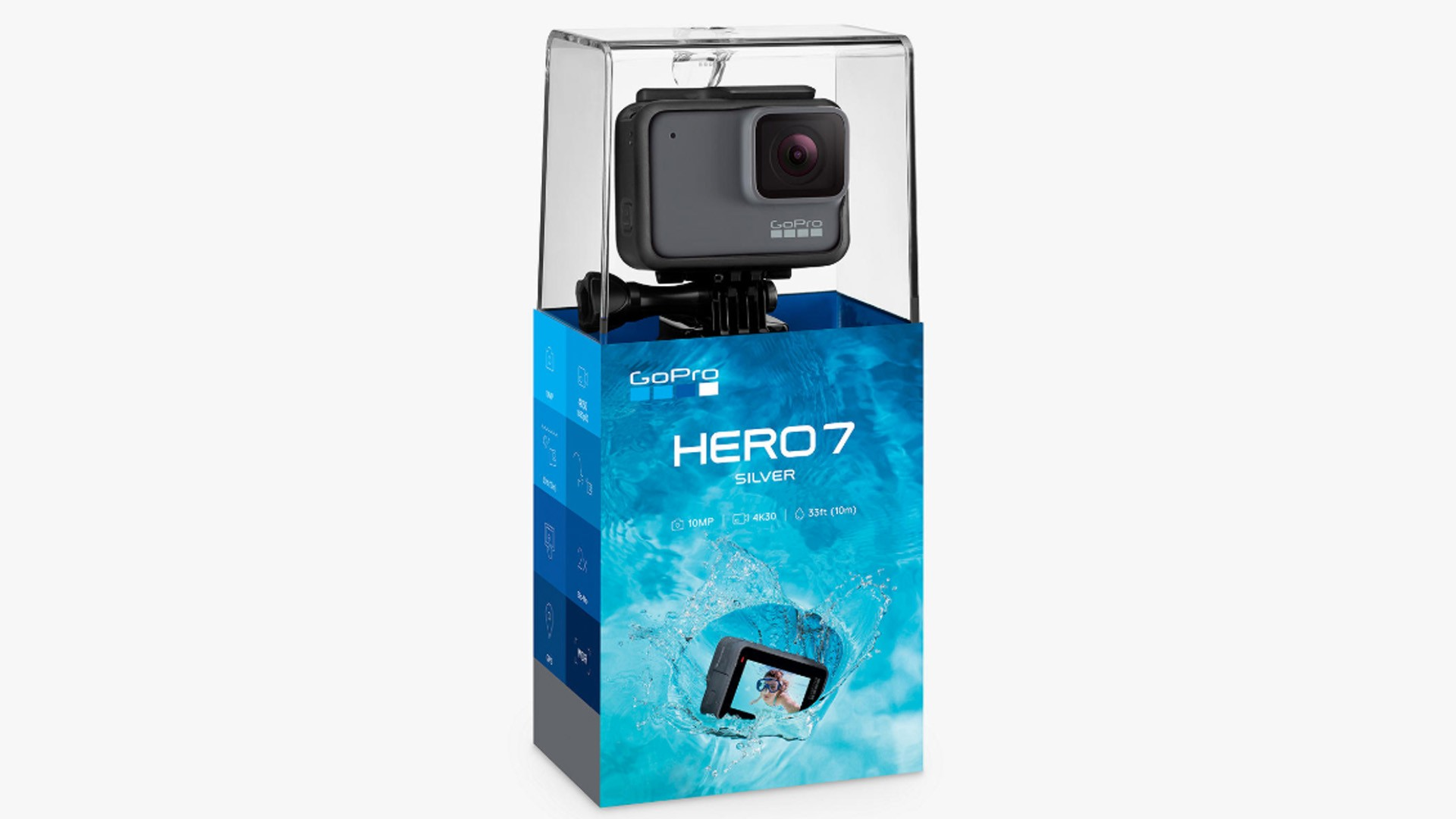 Get one of the latest GoPro cameras and get filming