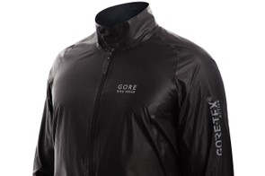 Reflective logos are attached to the 116g jacket, which packs down into your palm