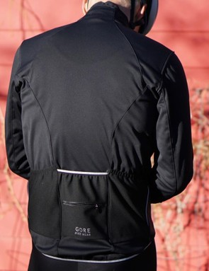 The Power 2.0 Windstopper Softshell Jacket fits a little loosely for layering — although you don't need much underneath even in the winter