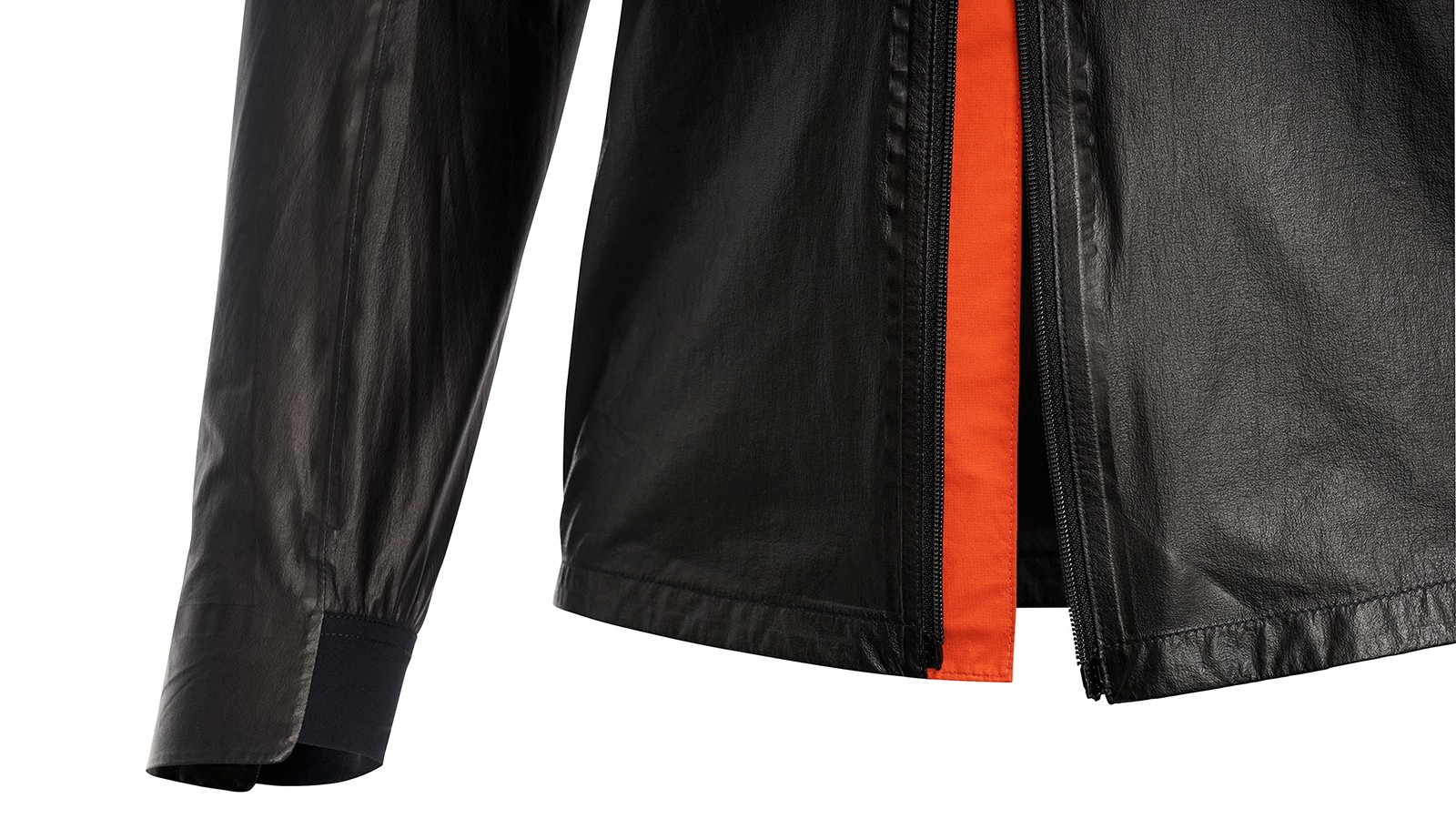 The One 1985 has a double zipper and a partially elasticated cuff