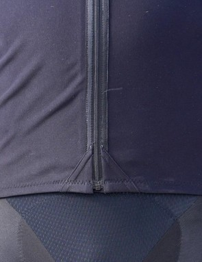 Details around the zipper keep the jersey comfortable