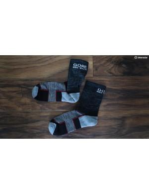 GORE's new Fiber Socks use high tech with Merino wool to improve durability