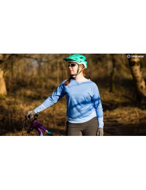 The Power Trail Lady long sleeve jersey is part of the new range of performance trail-wear from Gore Bike Wear
