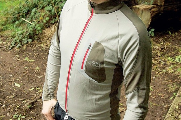 The Thermo Jersey is perfect for layering.