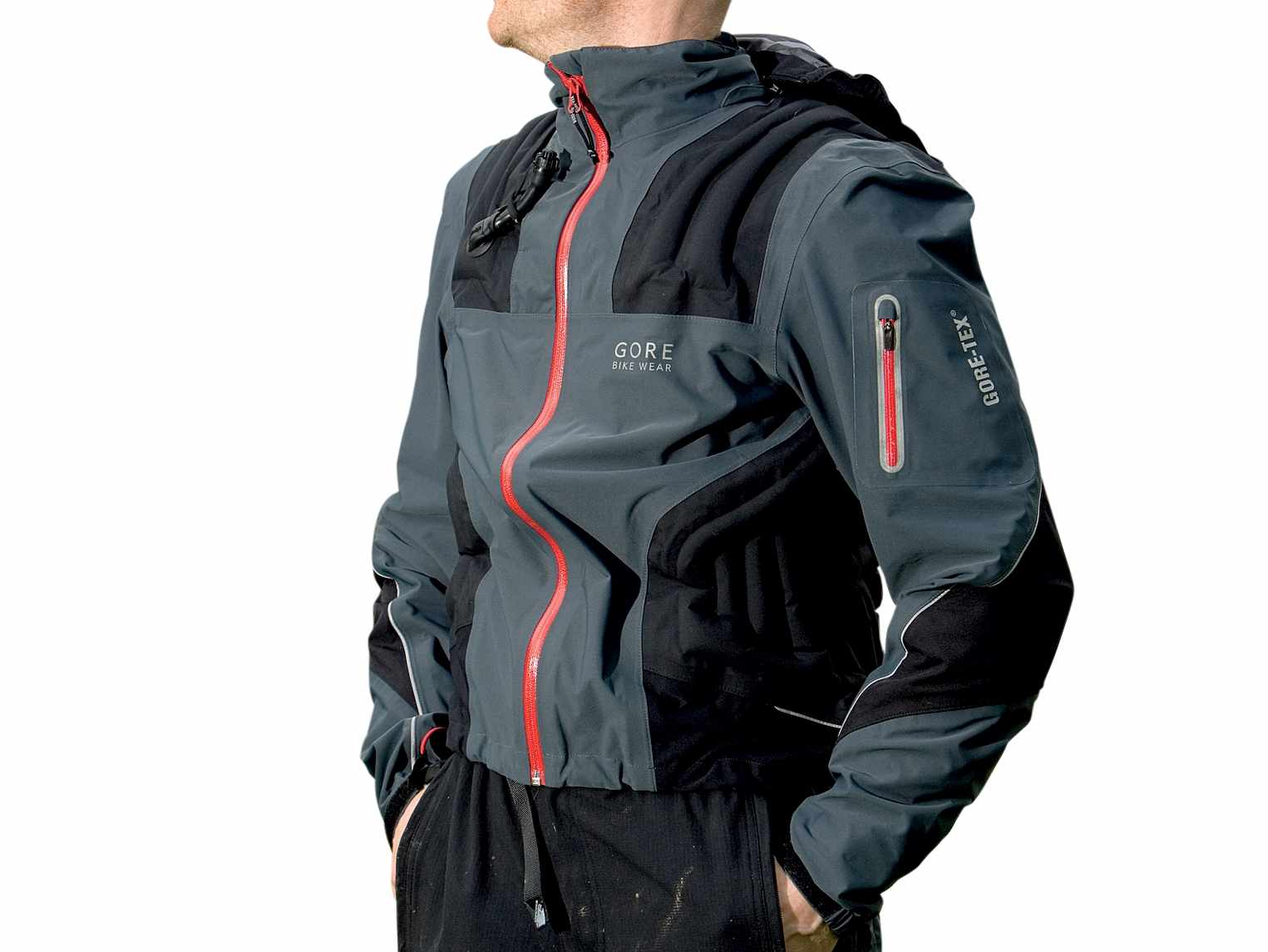 It's not cheap by any means, but the Concept is the ultimate biking jacket.