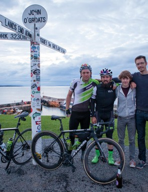 I rarely took off VOID's gilet during the 1000 miles ride from Land's End to John O'Groats