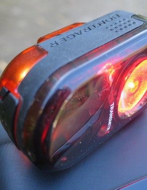 Bontrager's Flare R is a powerful little light that can be controlled from your Garmin
