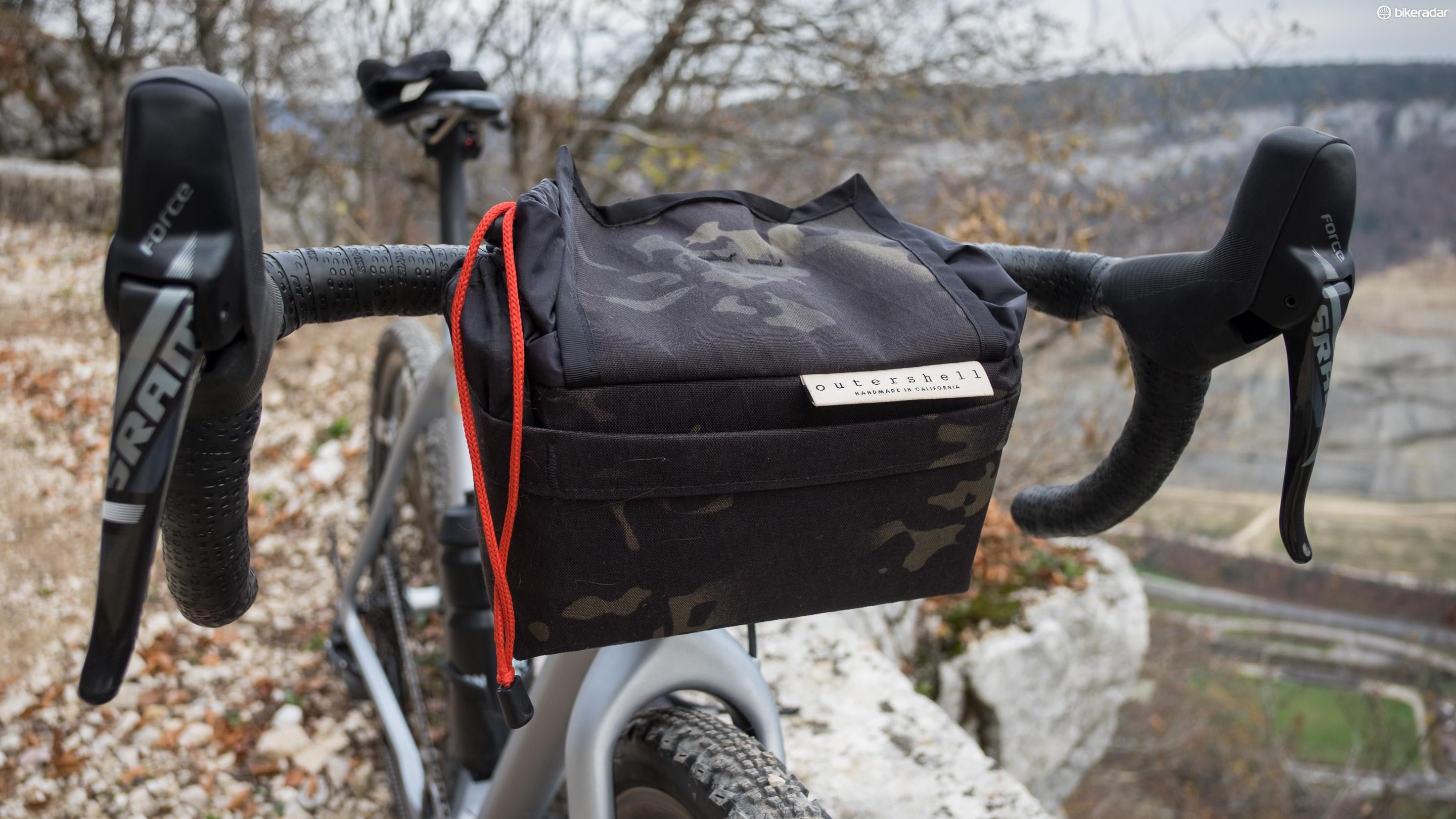 The Outer Shell bar bag is the best piece of bike luggage I've used