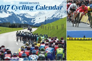 The 2017 cycling calendar from Graham Watson is on sale now