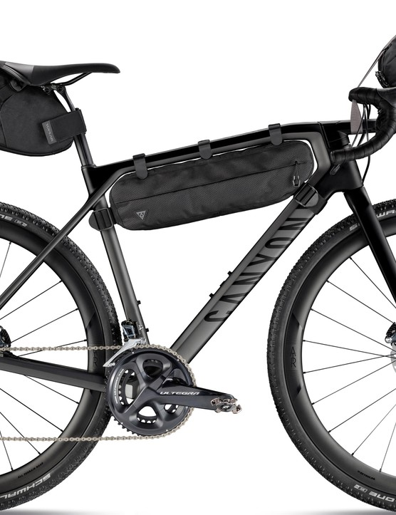 Topeak has developed a set of bikepacking bags to accompany the Grail
