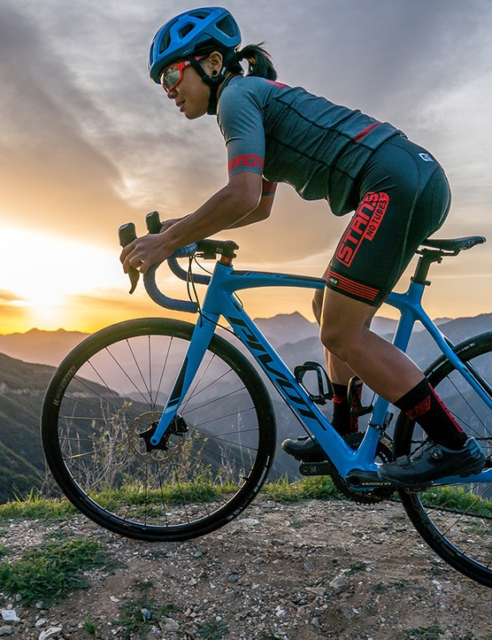 Stan's NoTubes Grail carbon and aluminum wheels are designed for today's more versatile drop-bar bikes