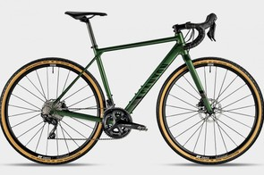 Shimano 105 gears and disc brakes make up the meat of the Grail AL 7.0
