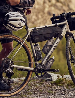 The Grail AL comes with attachment points for racks and mudguards