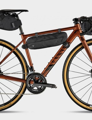 Canyon has worked with Topeak to develop a selection of luggage specifically designed to work with the Grail