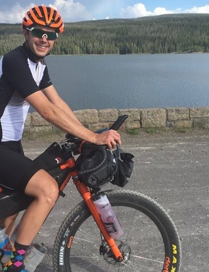 Legan has done dozens of events and solo adventures on gravel