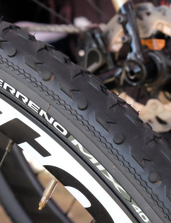 The Terreno Mix is VIttoria's all-condition option