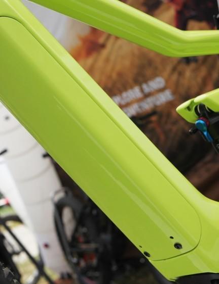 Bosch's new PowerTube 500 battery is designed to be completely hidden inside e-bike frames