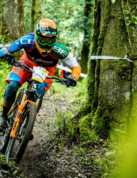 Callaghan is gunning for an overall series win if he can