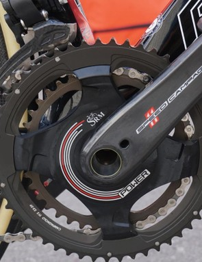 SRM is no longer making power meters for Shimano cranks, since the Japanese giant announced plans for its own meter. Campagnolo cranks, however, still get the German device