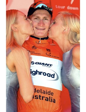 No suffering for Greipel on the podium, though.