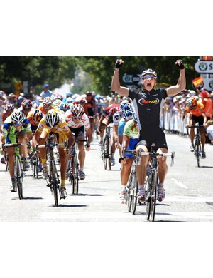 Germany's Andre Greipel won the fifth stage of the Tour Down Under.