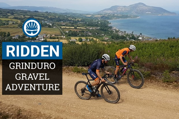 Gravel enduro at Grinduro 2018 on the Isle of Arran