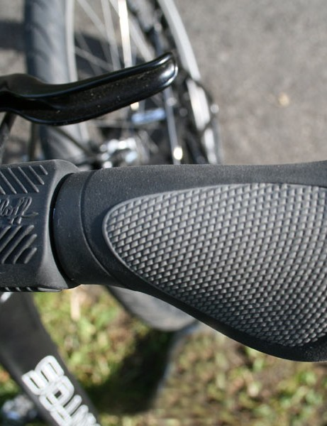 Ergon grips are excellent at dissipating road buzz