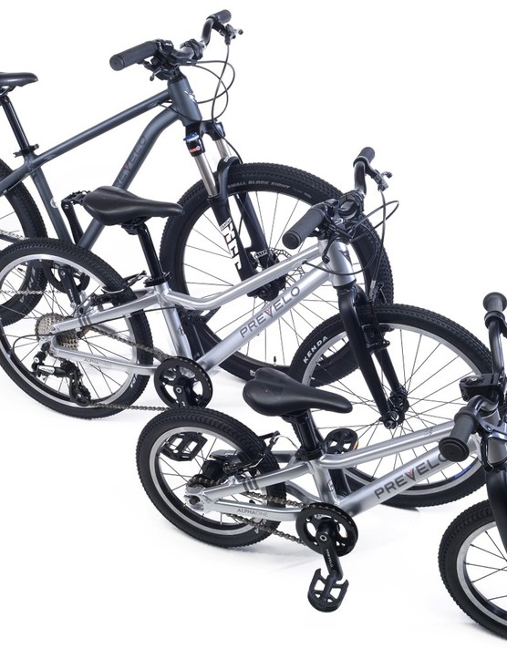 All of the Prevelo kids' bikes feature a low center of gravity said to increase confidence