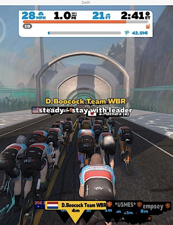 Group rides usually have leaders who orchestrate the pace and strategy of the event
