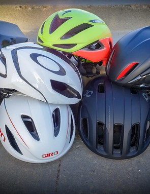 We put eight of the best aero road helmets through hundreds of miles of testing. We spent countless hours obsessing over the finer points of helmet function, comfort and aesthetics. And the results are in!