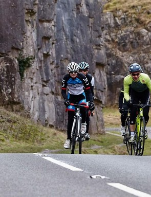 Riding with an unfamiliar group of riders can help to mix things up