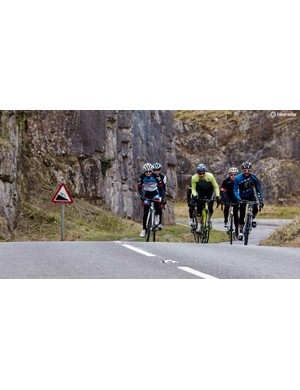 Riding's much more fun when you've got your mates along
