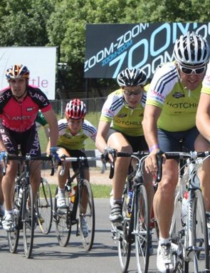 Riding in a group safely is a key cycling skill
