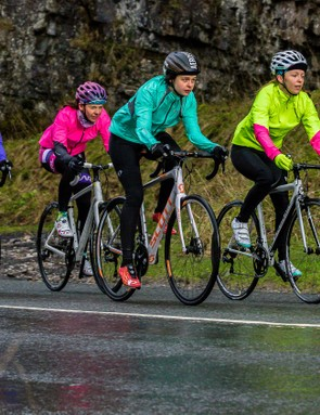Working together in a group can add a new dynamic to your riding