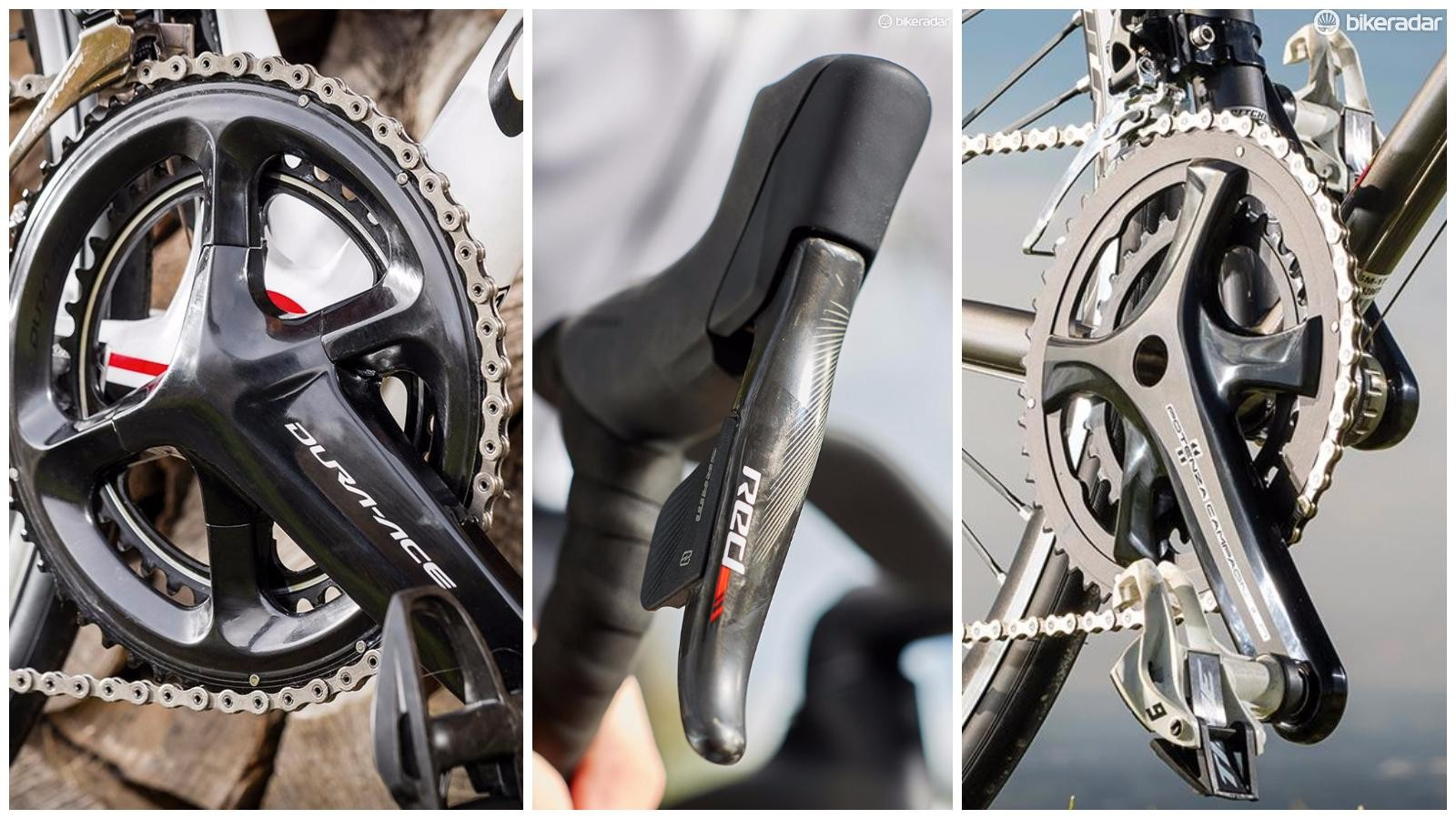 Check out our road bike groupset buyer's guide to learn more about what makes your bike stop and go