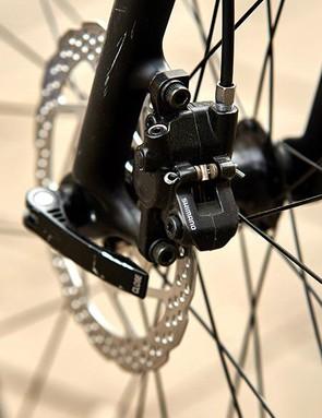 Shimano hydraulic disc brakes