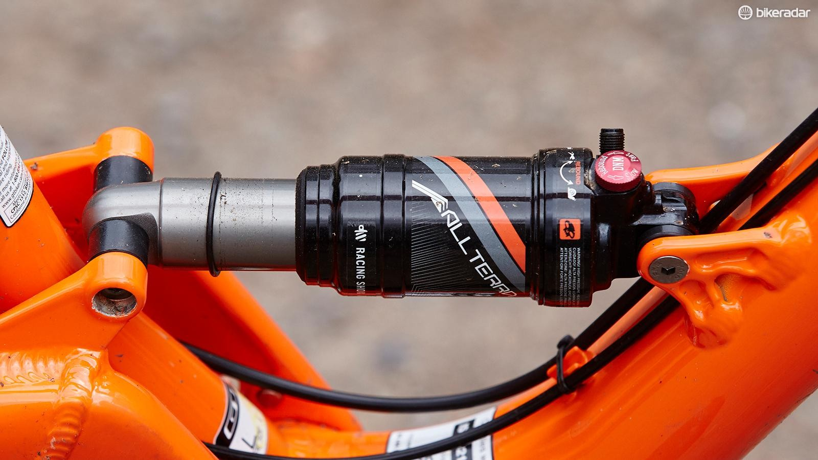 The Verb runs a custom-built air shock that's actually pretty smooth if you set it up right