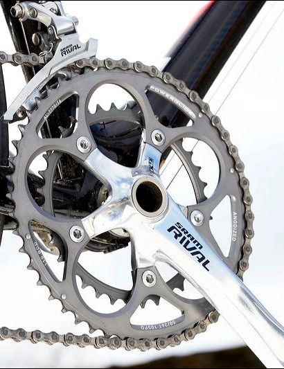 RAM Rival compact chainset keeps the gears low