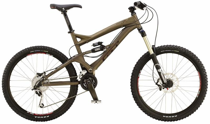 GT Sanction 1.0, ready to ride.