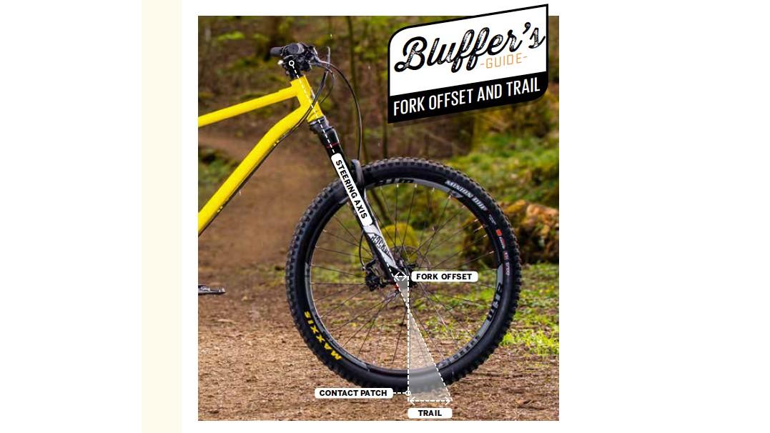 Pushing the limits of fork offset: an experiment - BikeRadar