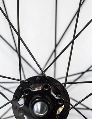 2. Two-cross spoke patterns are often found on high-end wheels