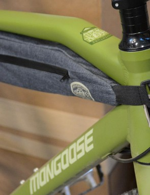 There's plenty of room inside the front triangle for a large frame bag