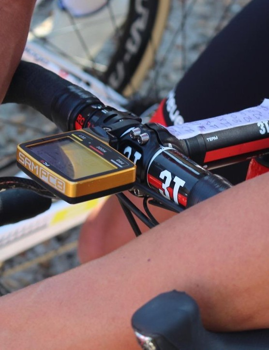 When you win the Olympic road race you can have a gold SRM PC8, too