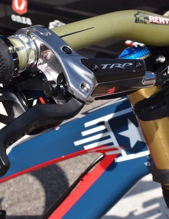 Gwin now has his own signature brake from TRP