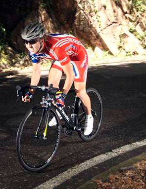 Nicole puts the Road Pro Race Prepared through its paces