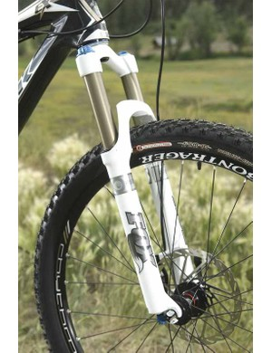 Fox's Float RP24 fork is a super-adjustable bump eater